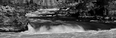 Kootenai Falls, Montana Poster