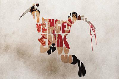 Kratos Fanart From God Of War Poster by Ayse Deniz