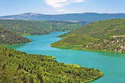 Krka River National Park View Poster by Brch Photography