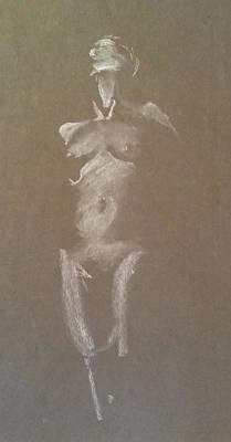 Kroki 2015 06 18_6 Figure Drawing White Chalk Poster
