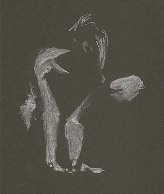 Kroki 2015 10 03_10 Figure Drawing White Chalk Poster