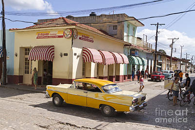 Kuba Trinidad Poster by Juergen Held