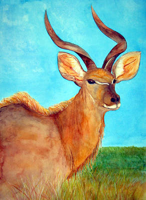 Kudu Poster by Patricia Beebe