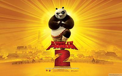 Kung Fu Panda 2 2011 Poster by F S