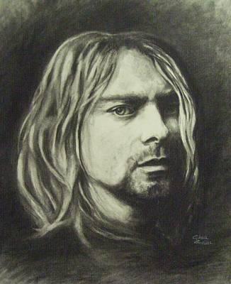 Kurt Cobain Poster by Cynthia Campbell