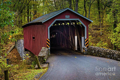 Kurtz Mill Covered Bridge Poster