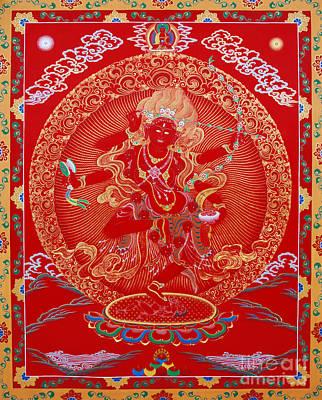 Kurukulle Devi Poster by Sergey Noskov