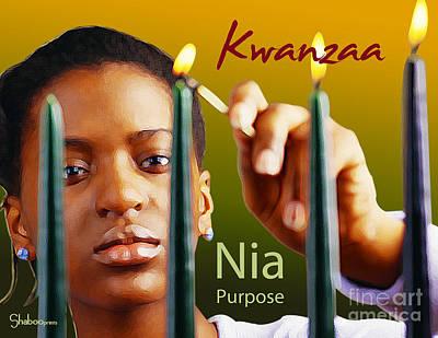 Kwanzaa Nia Poster