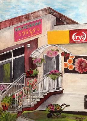 Kwiaciarnia Irys, Lomza Poster