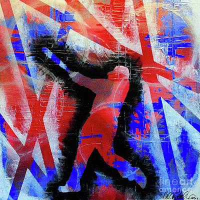 Kyle Schwarber - #letsgo Poster