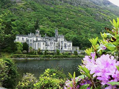 Kylemore Abbey Co Galway Poster by Martina Fagan