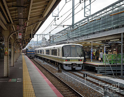 Kyoto To Osaka Train Station, Japan Poster