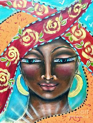 Saint Kyriaki Poster by Maya Telford