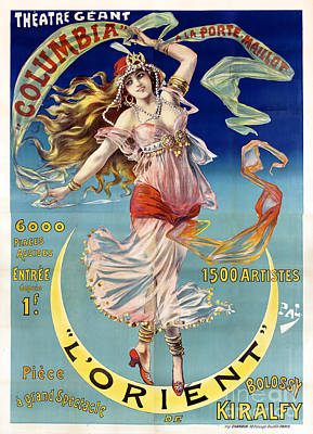 L' Orient Poster by Jon Neidert