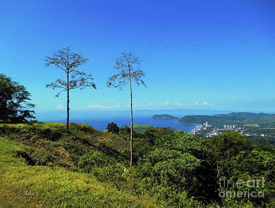 la Casita Playa Hermosa Puntarenas Costa Rica - Lost on Parrot Hill Poster by Felipe Adan Lerma