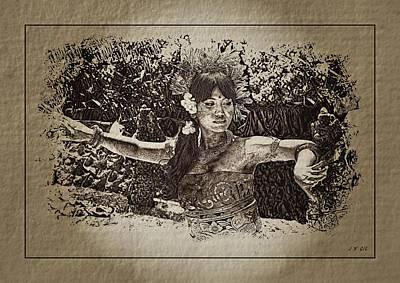 Dance,indonesian Women Poster