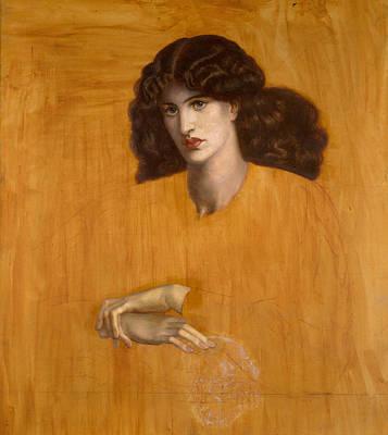 La Donna Della Finestra Poster by Dante Gabriel Rossetti