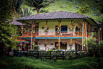 La Finca De Cafe - The Coffee Farm Poster