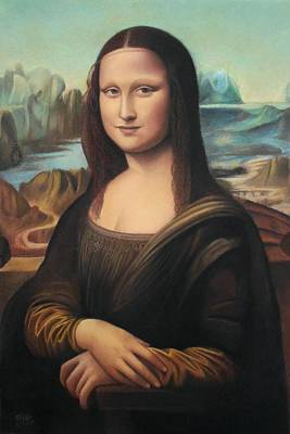La Gioconda - Pastel  Poster