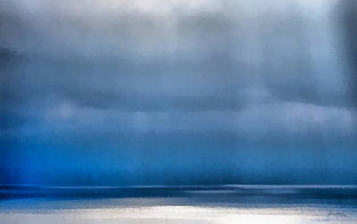La Jolla Sunrays On The Ocean Poster