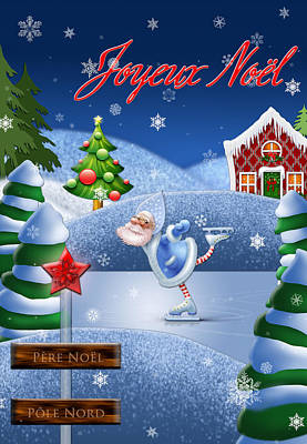 La Maison Du Pere Noel Poster