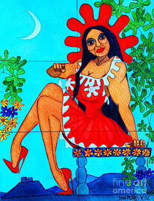 La Tia Maria Poster