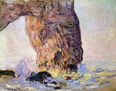 La Manneporte Poster by Claude Monet