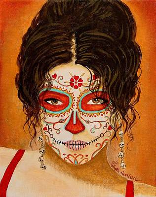 La Muerte Elegante Poster by Al  Molina