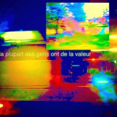La Plupart Des Gens Ont De La Valeur Most People Are Valuable Poster by Contemporary Luxury Fine Art