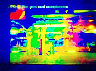La Plupart Des Gens Sont Exceptionnels Most People Are Exceptional Poster by Contemporary Luxury Fine Art