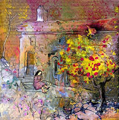 La Provence 13 Poster by Miki De Goodaboom