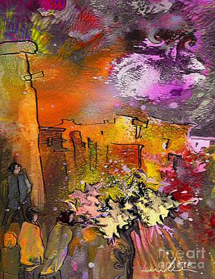 La Provence 14 Poster by Miki De Goodaboom