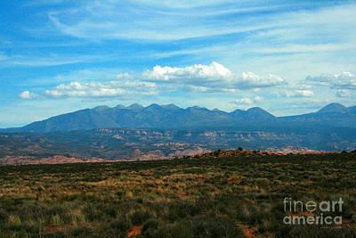 La Sal Mountains, Moab Utah Poster
