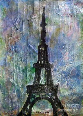 La Tour Eiffel By Taikan Poster