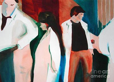 Lab Coats Poster