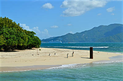 Labadie Or Labadee - Either Way Its  A Haitian Paradise Poster by Mr Snappy