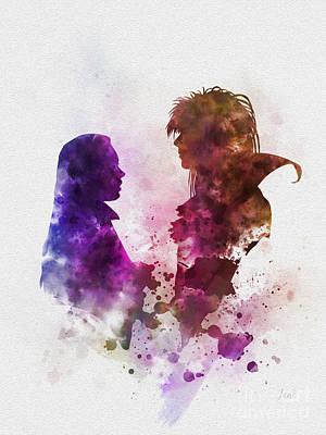 Labyrinth Poster by Rebecca Jenkins