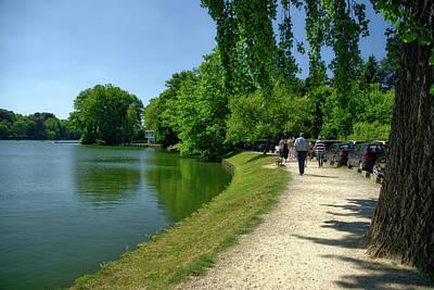 Lac De Genval Poster