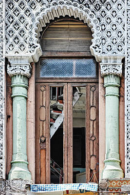 Lace Facade Poster by Dawn Currie