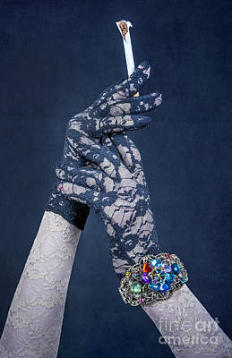 Lace Gloves Poster by Svetlana Sewell
