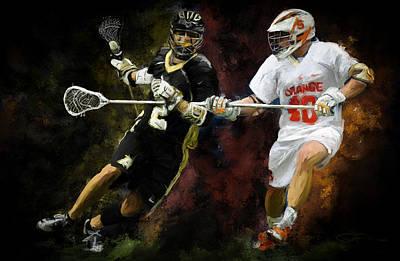 Lacrosse Close D #2 Poster by Scott Melby
