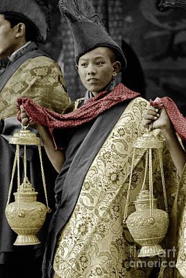Ladakhi Monk - Tikse Monastery, India Poster by Craig Lovell