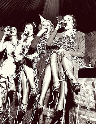 Ladies Toast End Of Prohibition Poster