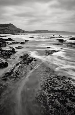 Ladram Bay In Devon Poster by Pete Hemington