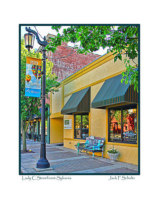 Lady C Storefront-sylvania Poster
