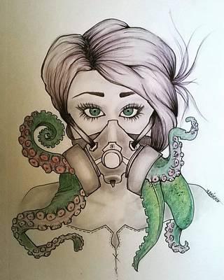 Lady Cthulhu  Poster by Kariz Xo