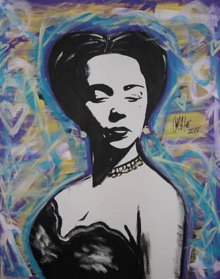 Lady Dandridge Poster