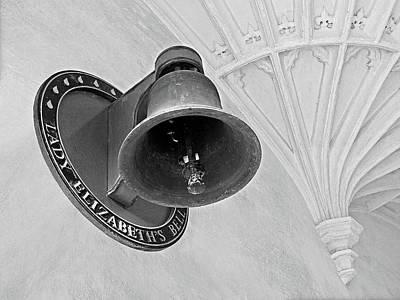Lady Elizabeth's Bell Clare College Cambridge Poster