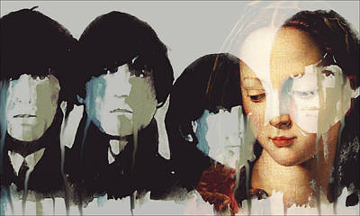 Lady Madonna Children At My Feet  Poster by Paul Lovering