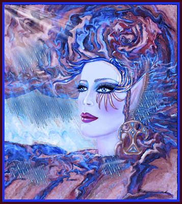Lady Storm Cloud Poster